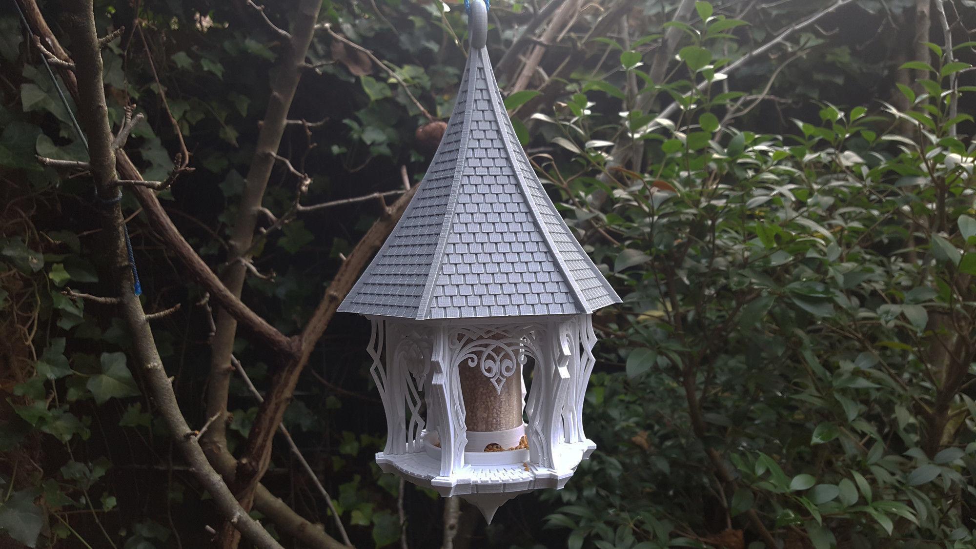 Garden House Bird Feeder