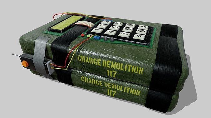 C4 explosive device