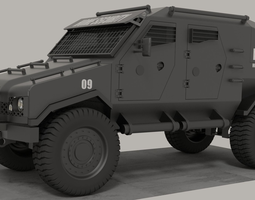 armoured vehicle 3D Model
