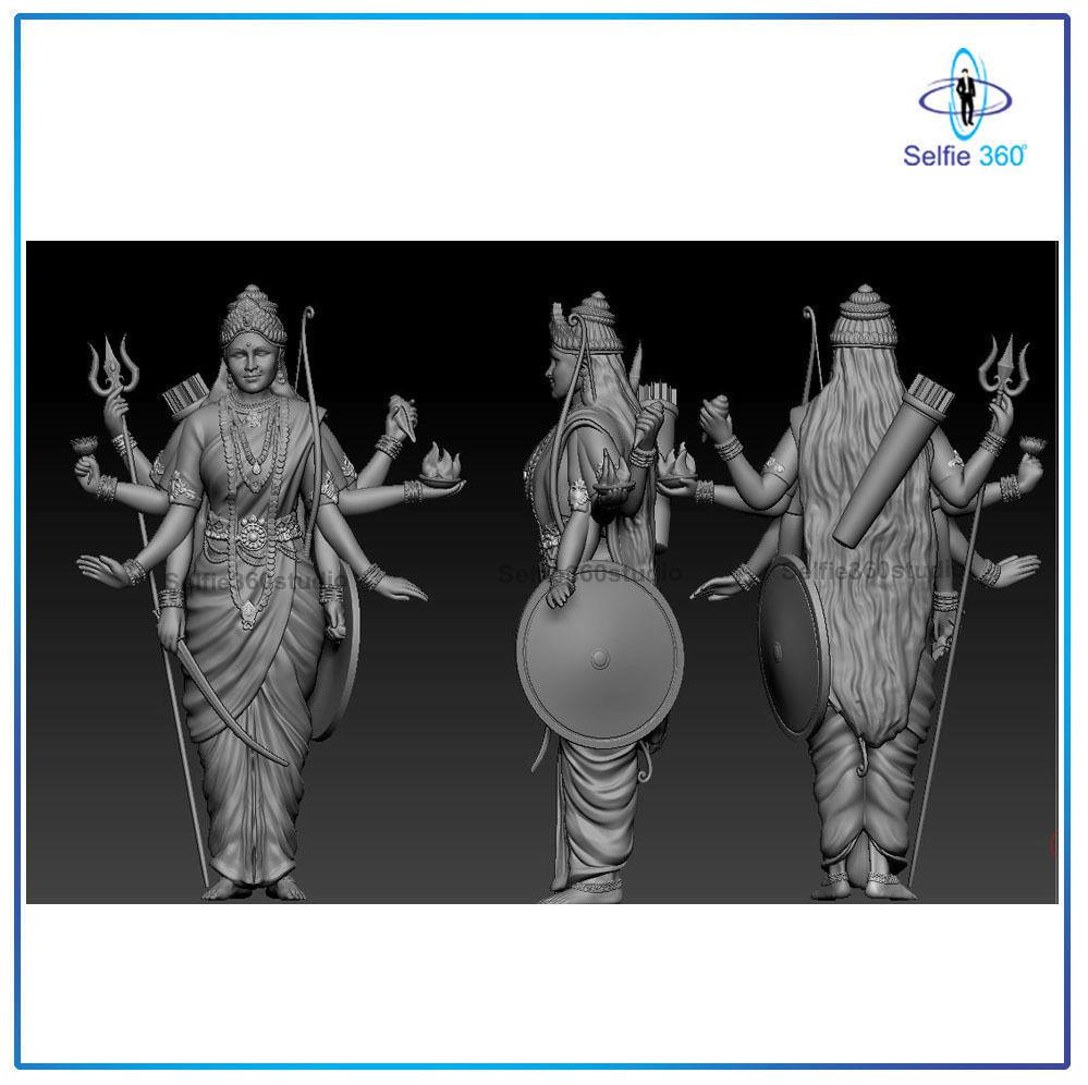 Mataji Idol 3D Printable model