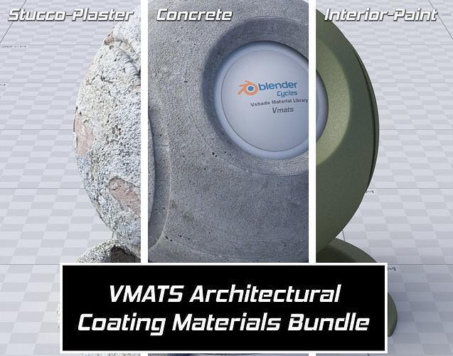 VMATS - Architectural Coating Materials Bundle