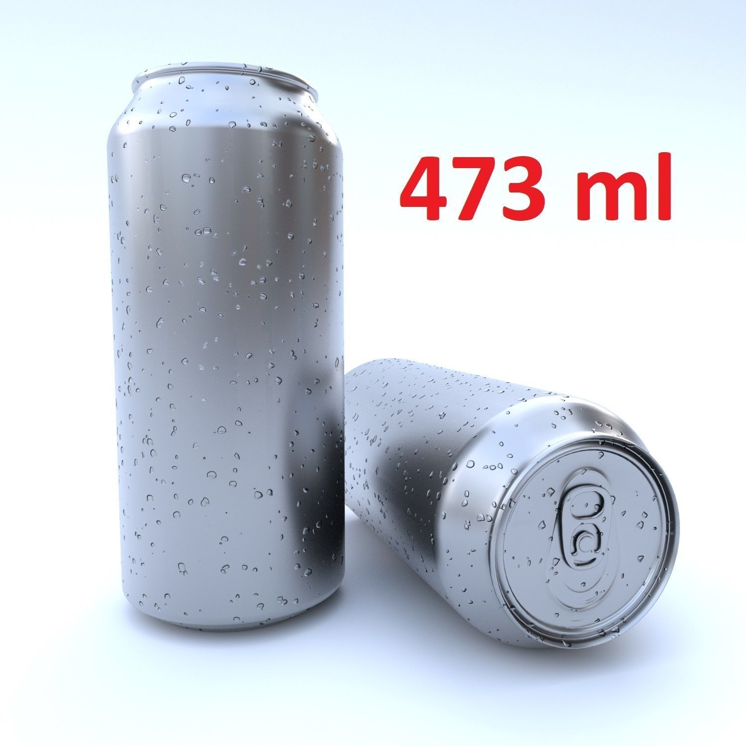 Beverage can 473 ml