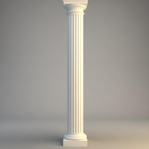 Classical Stone Column