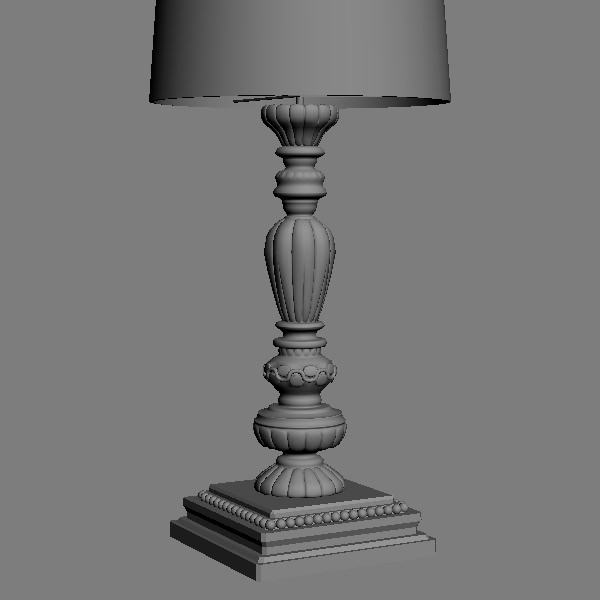 3d model ornate table lamp 2 cgtrader ornate table lamp 2 3d model max obj 3ds fbx unitypackage 4 aloadofball Choice Image