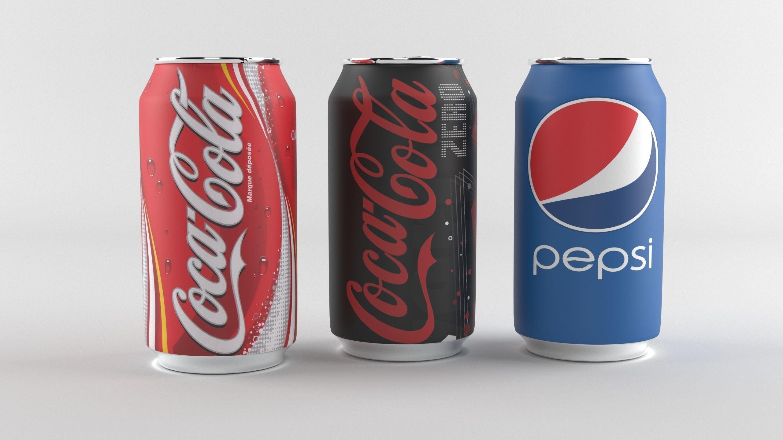 Coca-Cola 330ml Can 3D Model
