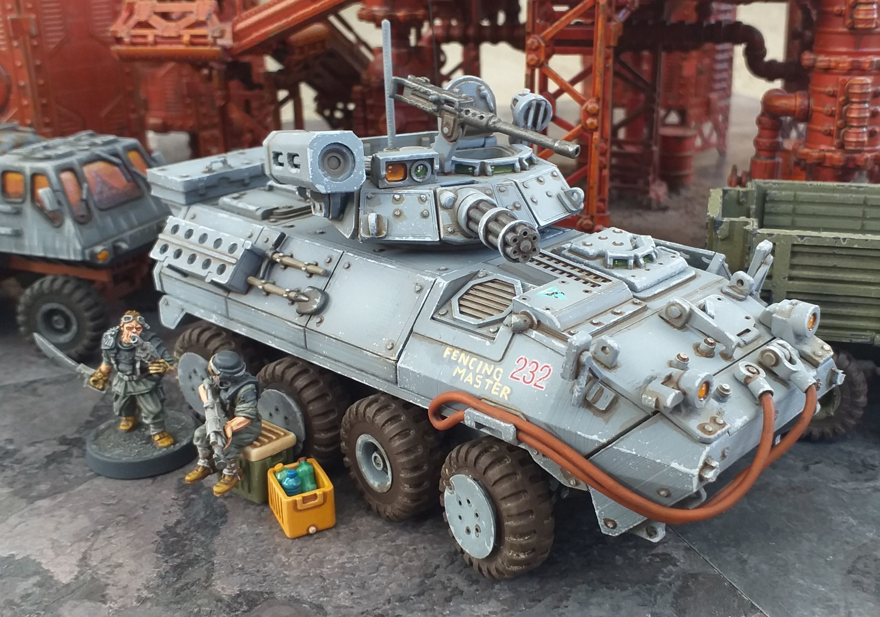 Light Armored Vehicle - 28mm Sci-Fi