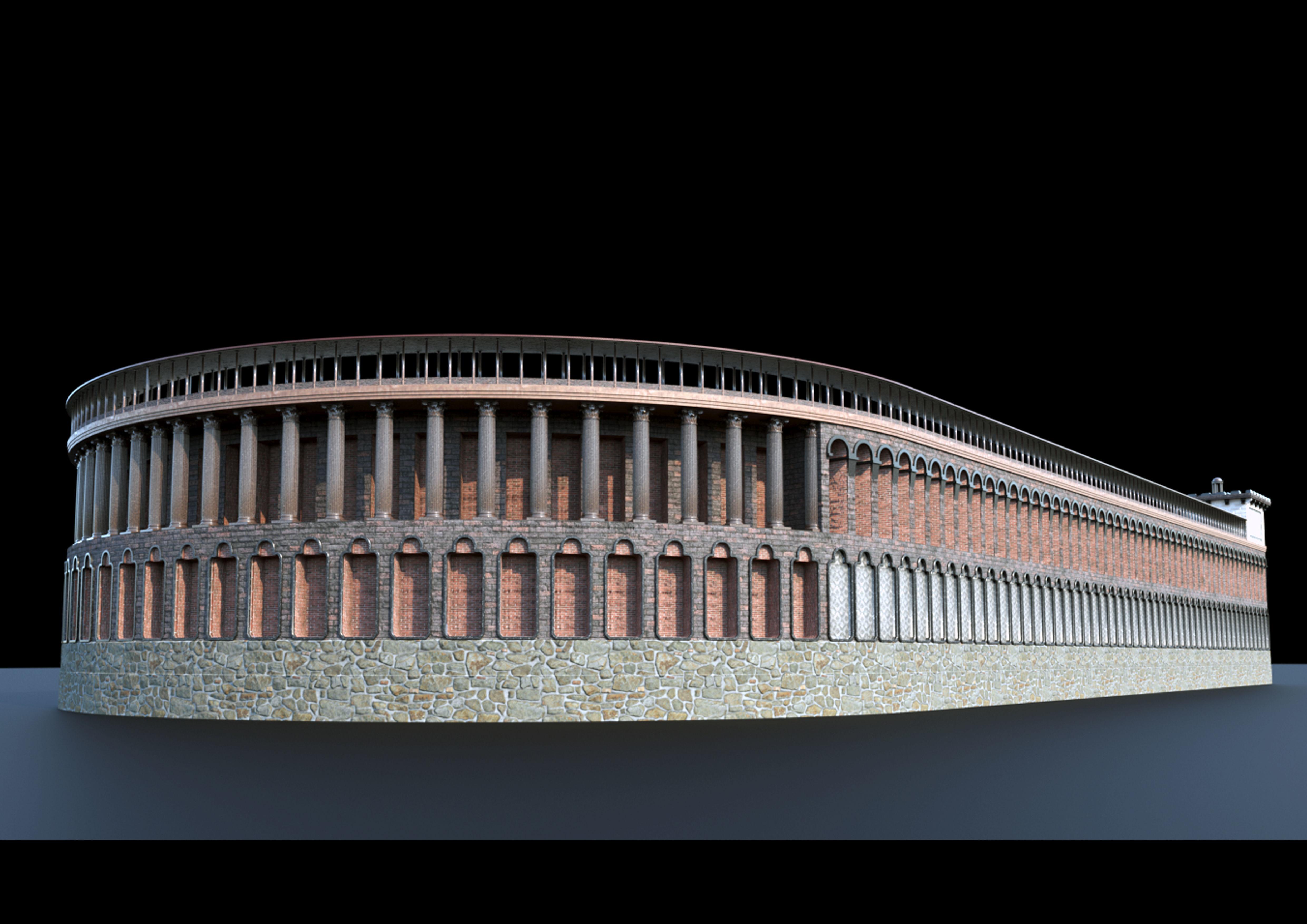 hippodrome 3d model