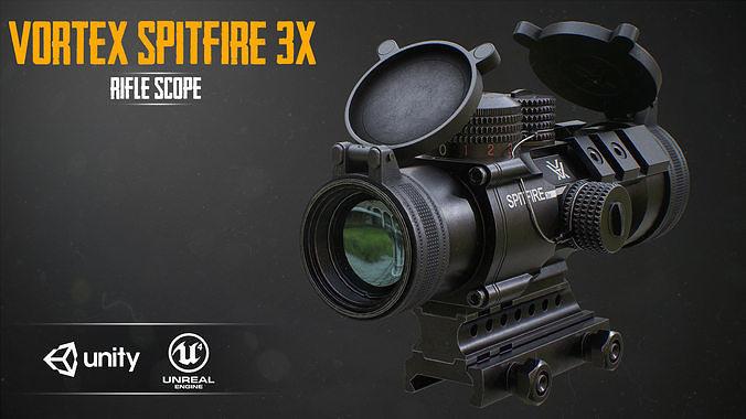 VORTEX SPITFIRE 3x Scope