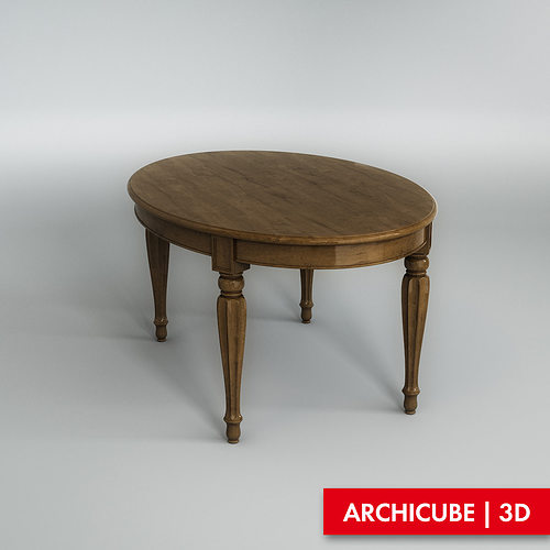 3D model furniture Dining table CGTrader : dining table 3d model max obj fbx from www.cgtrader.com size 500 x 500 jpeg 23kB