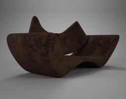 velvet brown vray material 3d