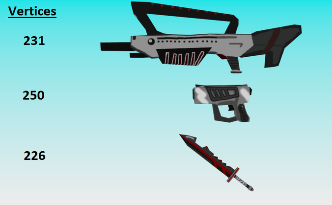 Low Poly Fantasy Weapon Pack