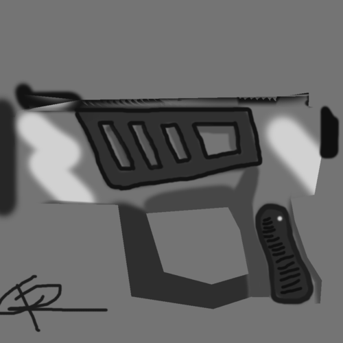 low poly fantasy weapon pack 3d model obj 3ds 13