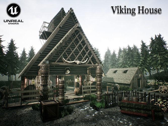 Viking House UNREAL ENGINE