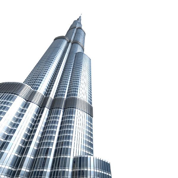 Burj khalifa   best of 3d models.