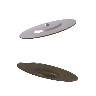 30 realistic flying saucers 3d model 3ds lwo lw lws 15