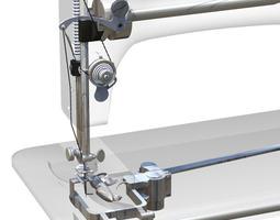 3d model 1908 singer sewing machine