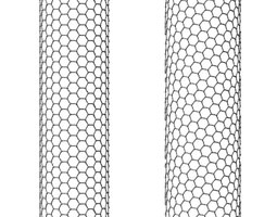 3D model Carbon Nanotubes