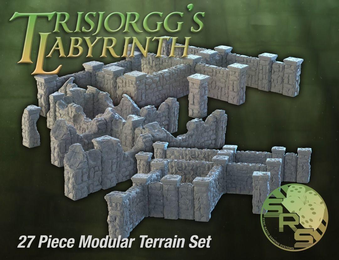 Stone Walls Modular Terrain Complete Set