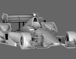 Indy Car Chevy 2015 3D asset