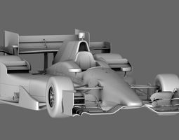 Indy Car Honda 2015 3D asset