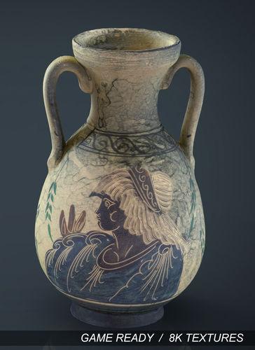 greek vase 2 3d model max obj mtl fbx ma mb 1