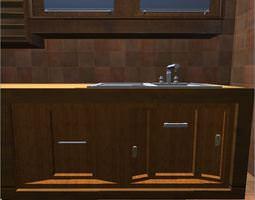 Kitchen elements 3D model