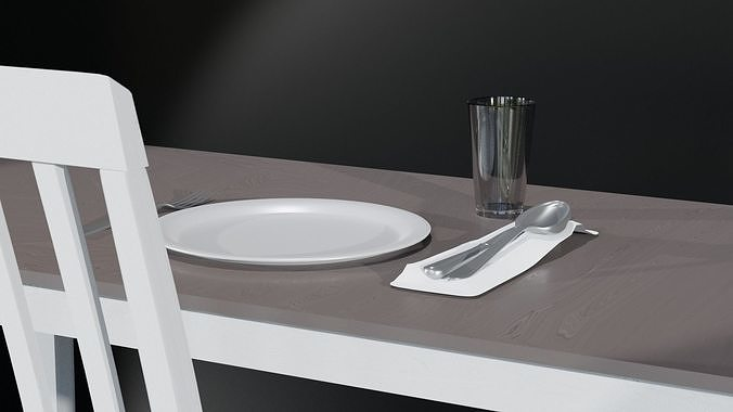 Silverware Set with Cup