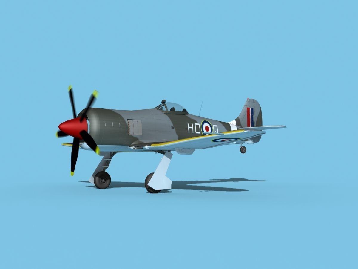 Hawker Tempest MKII V04 RAF