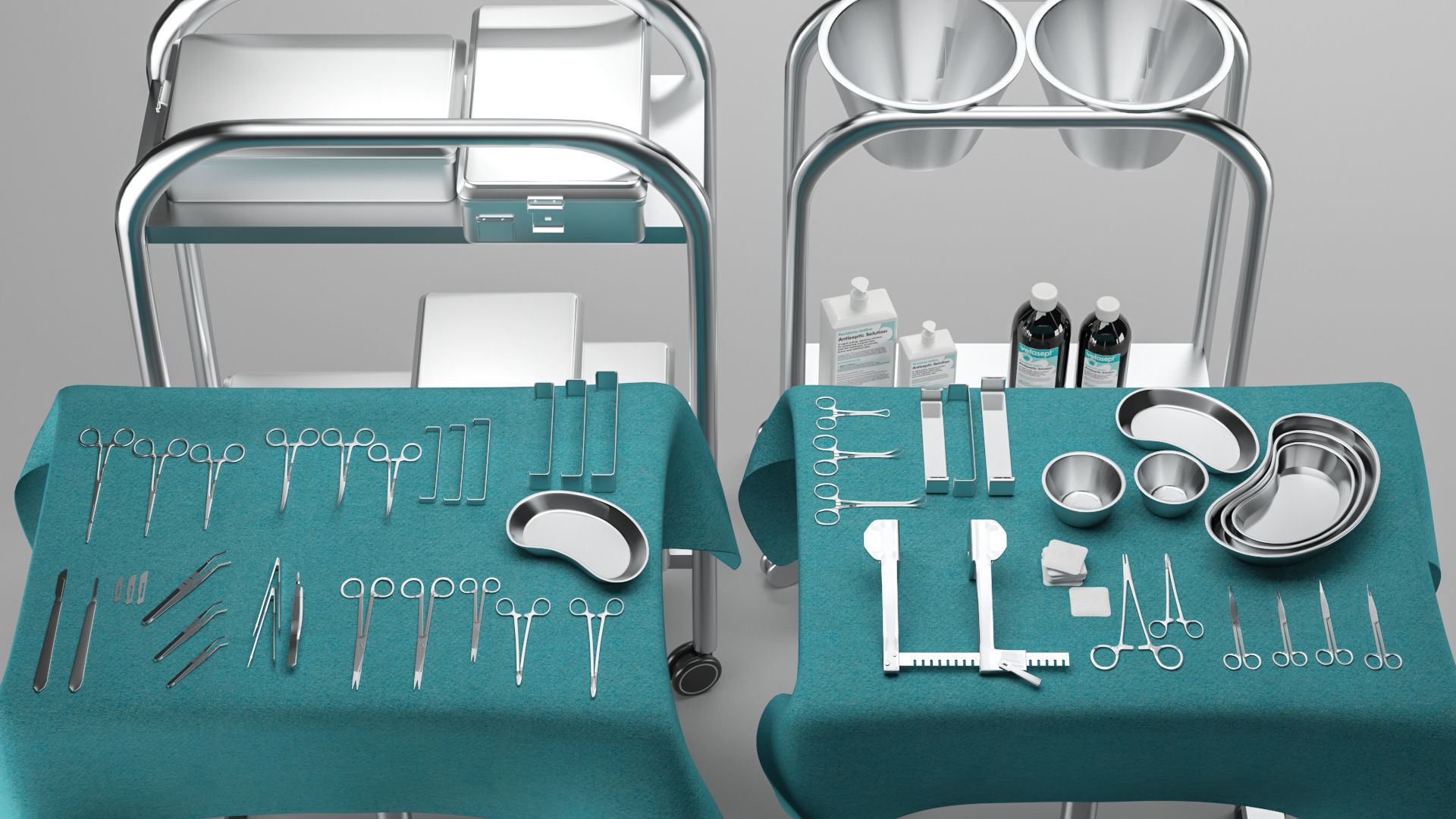 Surgical Instruments 3D Model