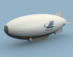 cargolifter airship 3d model