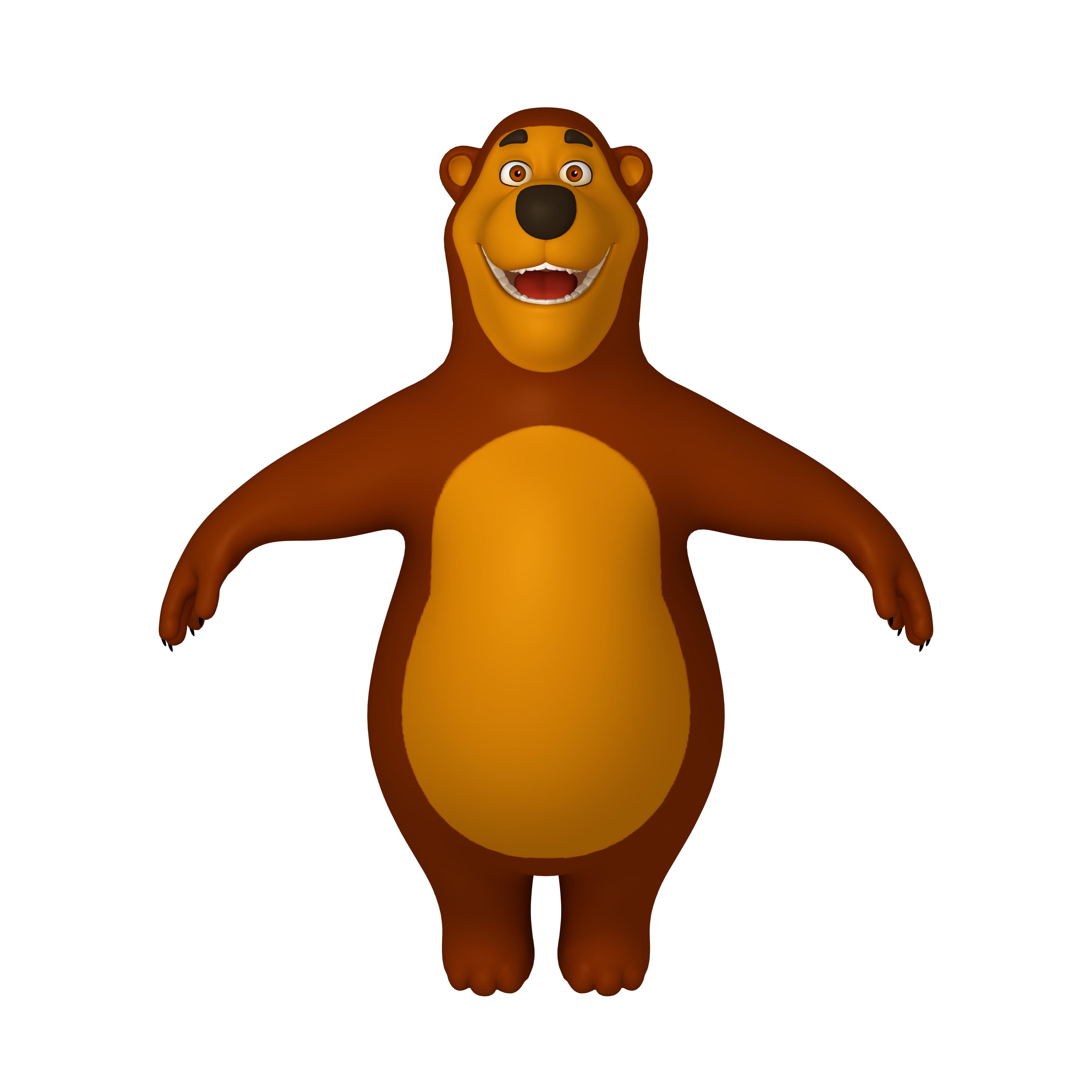 Bear Cartoon 02