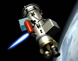 xss 10 satellite 3d model