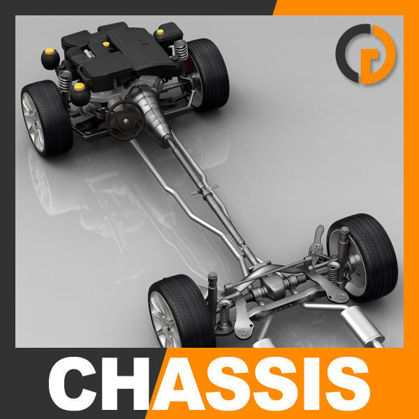 Car Chassis and Engine