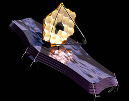 3d model james webb space telescope