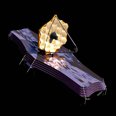 james webb space telescope 3d model lwo lw lws 1