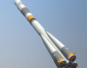 3D model Soyuz FG Rocket