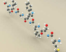 Protein Molecule 3D