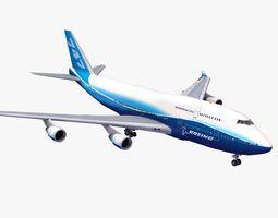 747 Jumbo Jet 3D