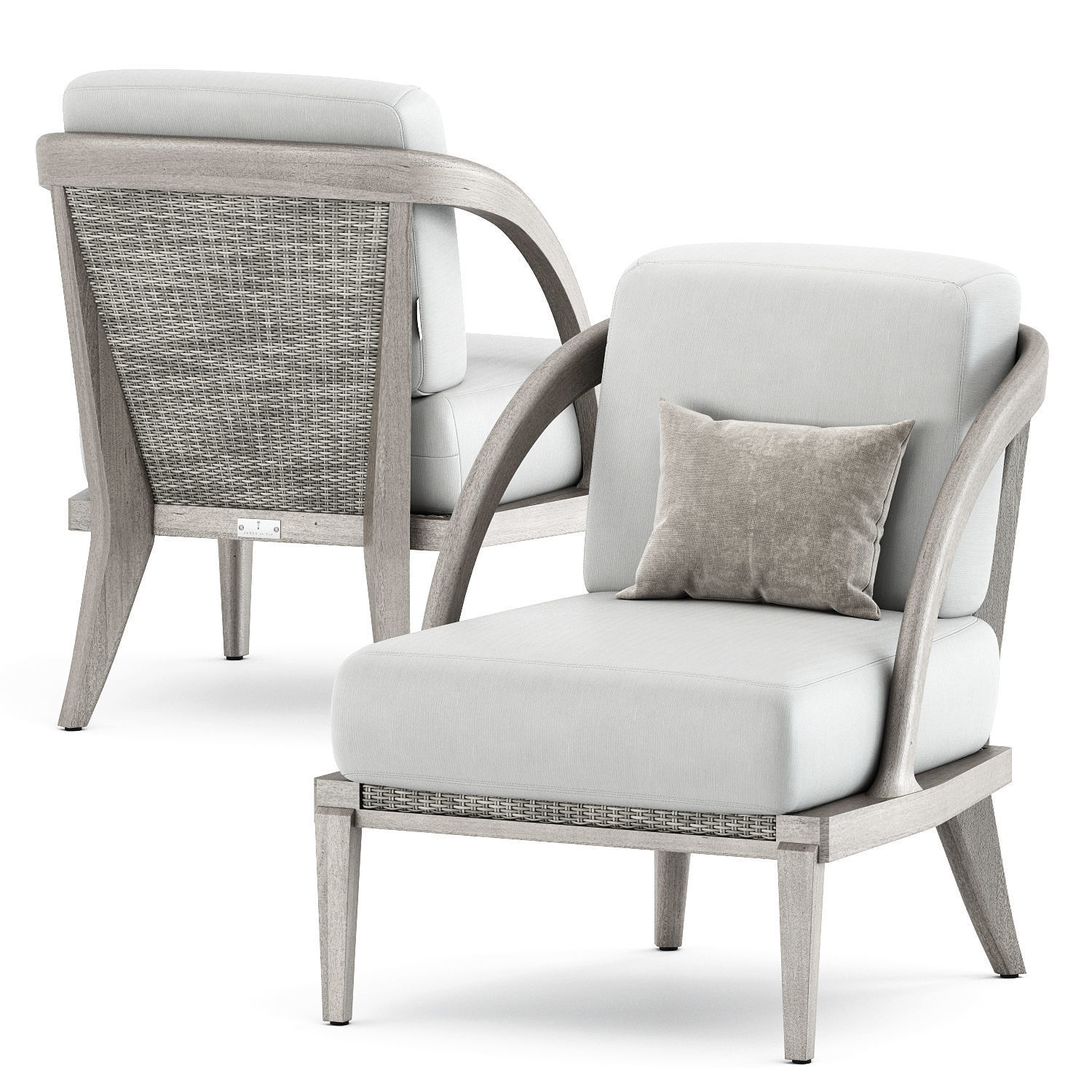 Rock Garden Lounge Chair by Janusetcie