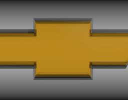Chevrolet logo 3D model