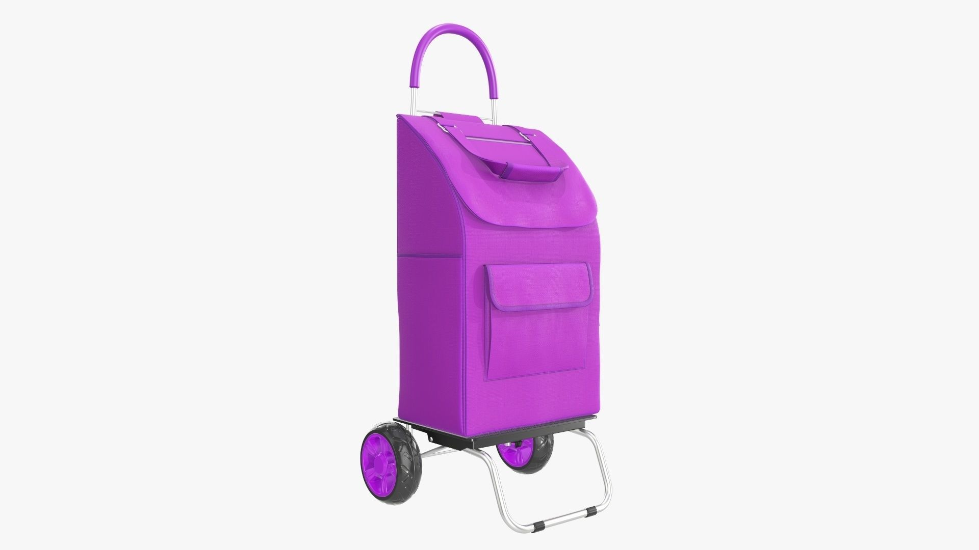 Foldable utility cart with bag