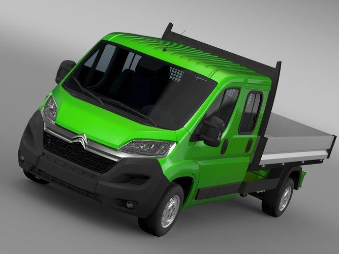 Citroen Relay Crew Cab Truck 2017