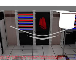 epengle exhibition stand design 3d model