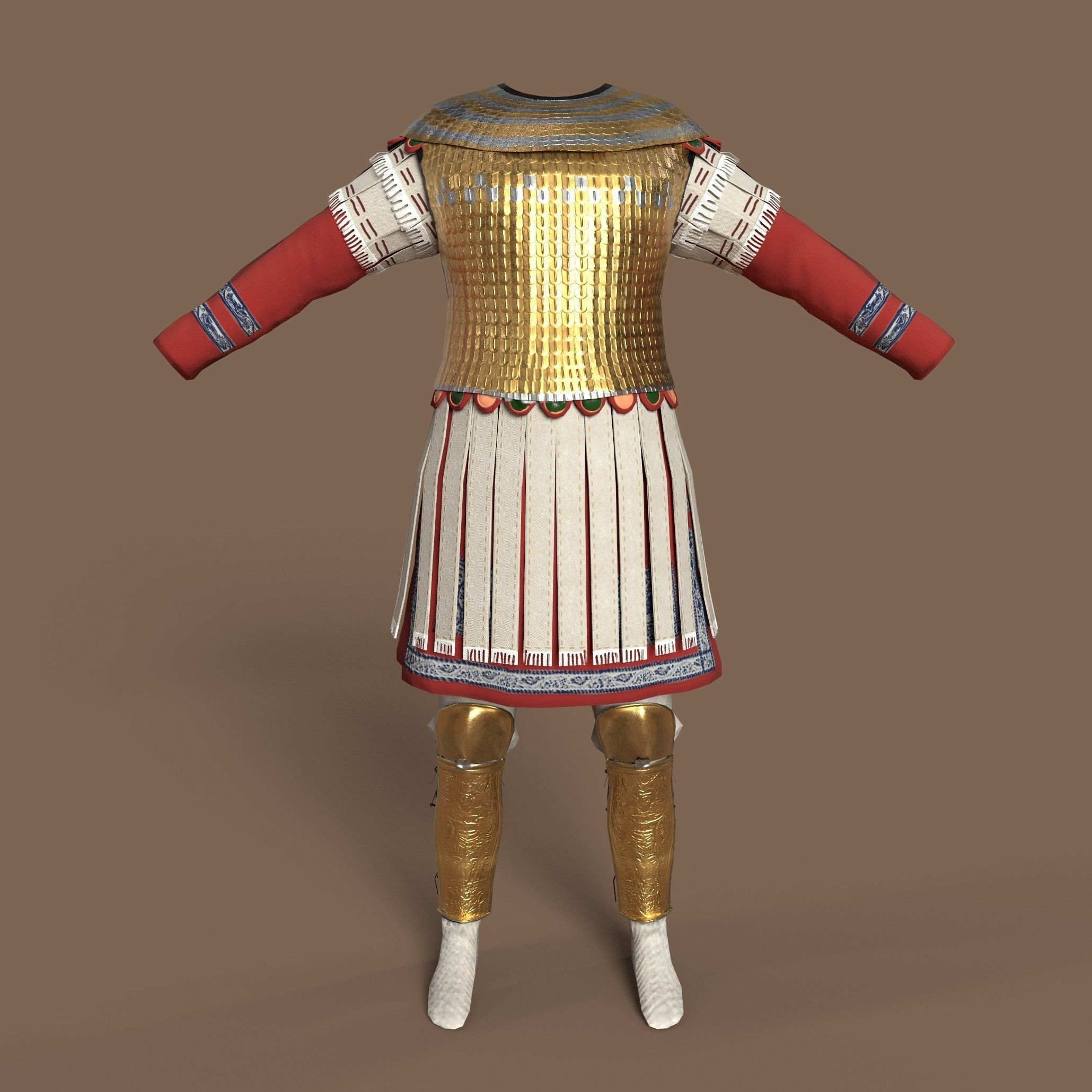 Late Roman officer outfit