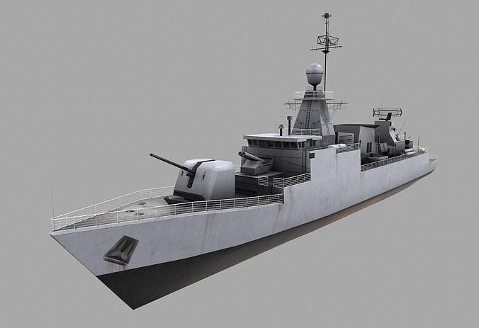 Missile Equiped Corvette