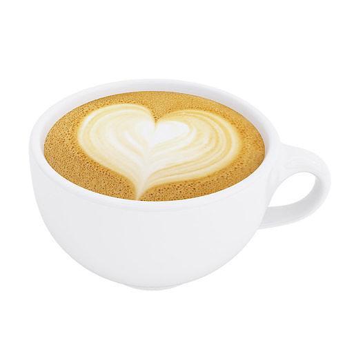 Latte coffee cup Heart