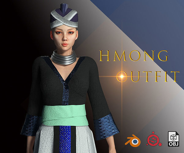 Character Creator - Hmong Female Costumes
