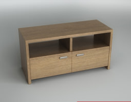 3D Wooden console