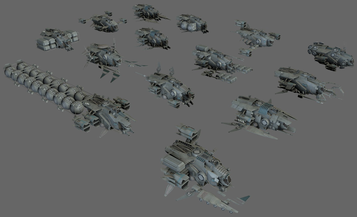 14 Spaceships Collection
