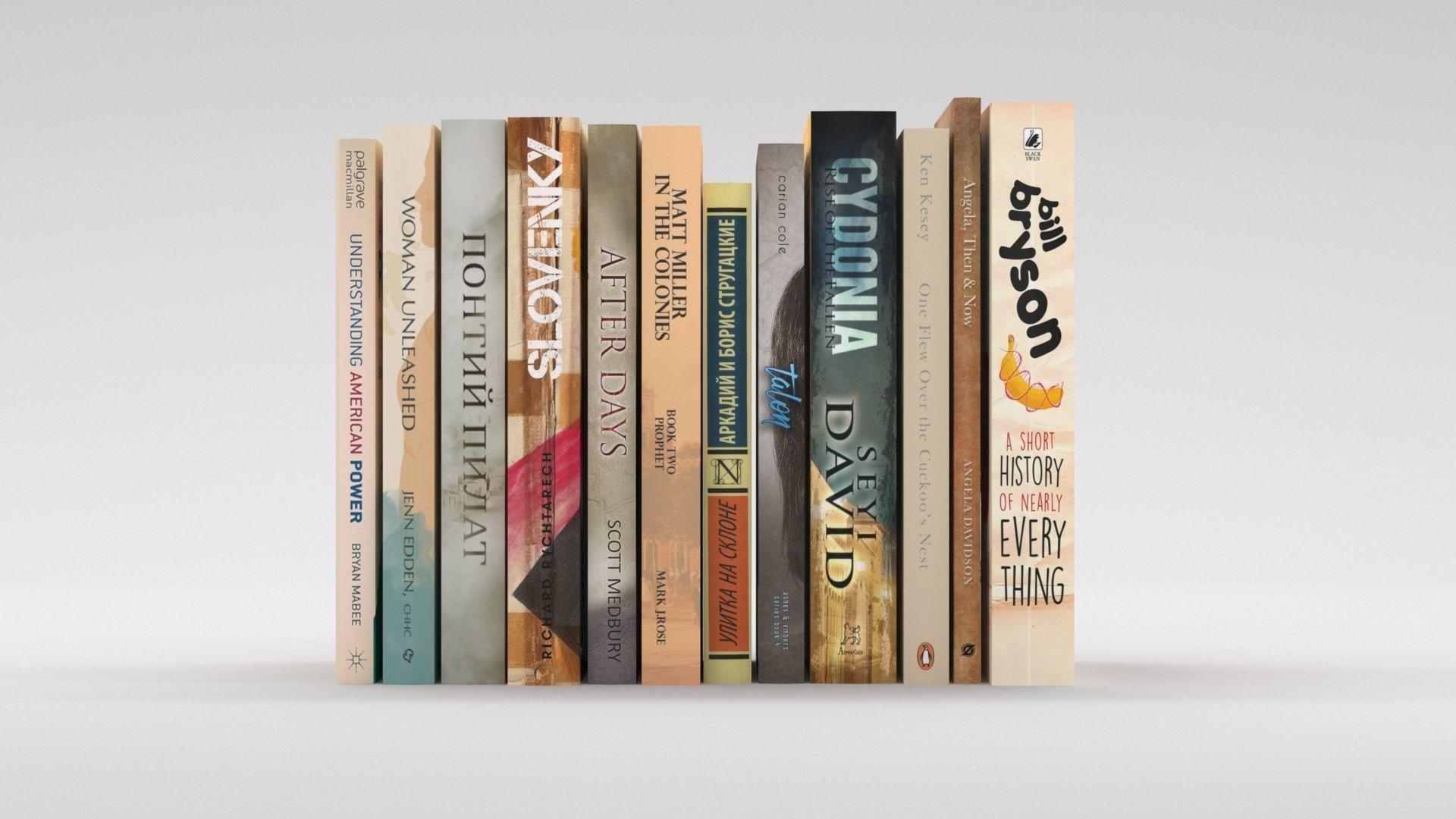 12 hardcover beige books